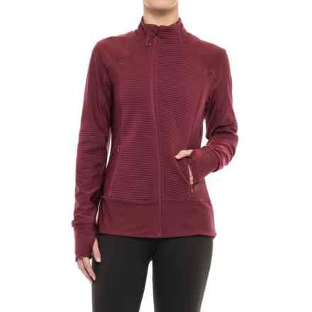 Mondetta Demo Jacket (For Women) in Port - Closeouts