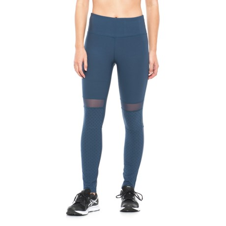 Mondetta Eden High-Performance Leggings (For Women) in Iron Blue