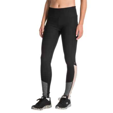 Mondetta Excite High-Performance Leggings (For Women) in Black Combo - Closeouts