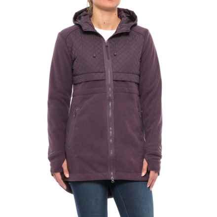 Mondetta Eyelash Jacket (For Women) in Raisin - Closeouts