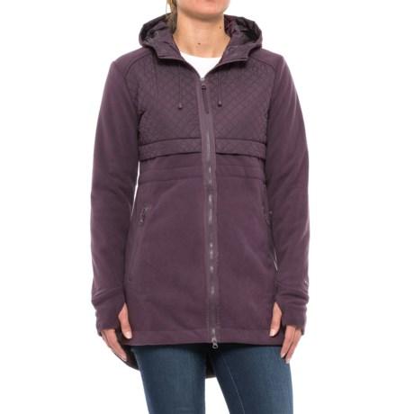 Mondetta Eyelash Jacket (For Women) in Raisin