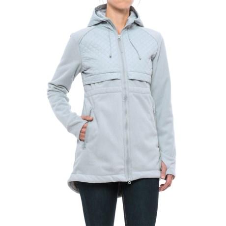 Mondetta Eyelash Jacket (For Women) in Smoke