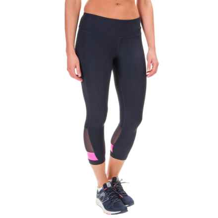 Mondetta High-Waist Capris (For Women) in Navy - Closeouts