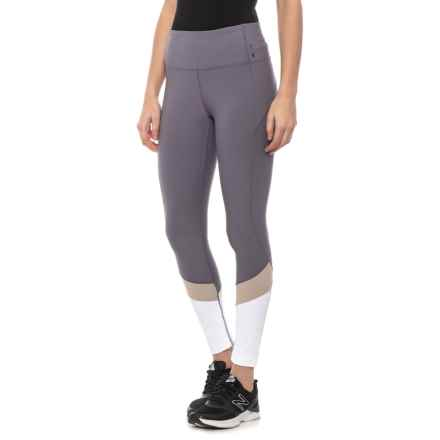 Mondetta In Harmony 3-Tone Leggings (For Women) in Smoke/White