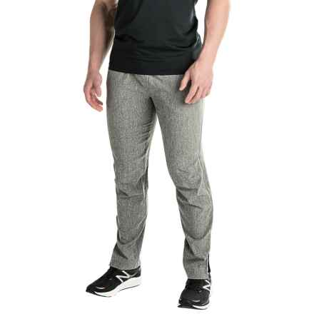 Mondetta Jacquard-Back Pants (For Men) in Heather Charcoal - Closeouts