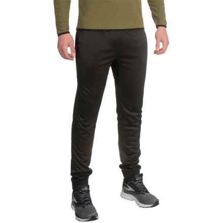 Mondetta Knit Joggers - Fake Fly (For Men) in Black - Closeouts