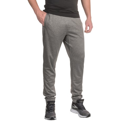 Mondetta Knit Joggers - Fake Fly (For Men) in Heather Charcoal