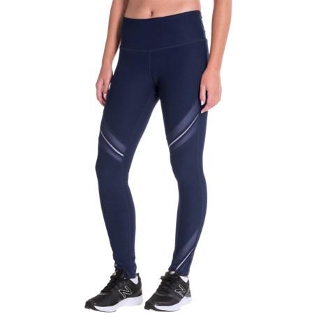 Mondetta Luminous Power-Mesh Leggings (For Women)