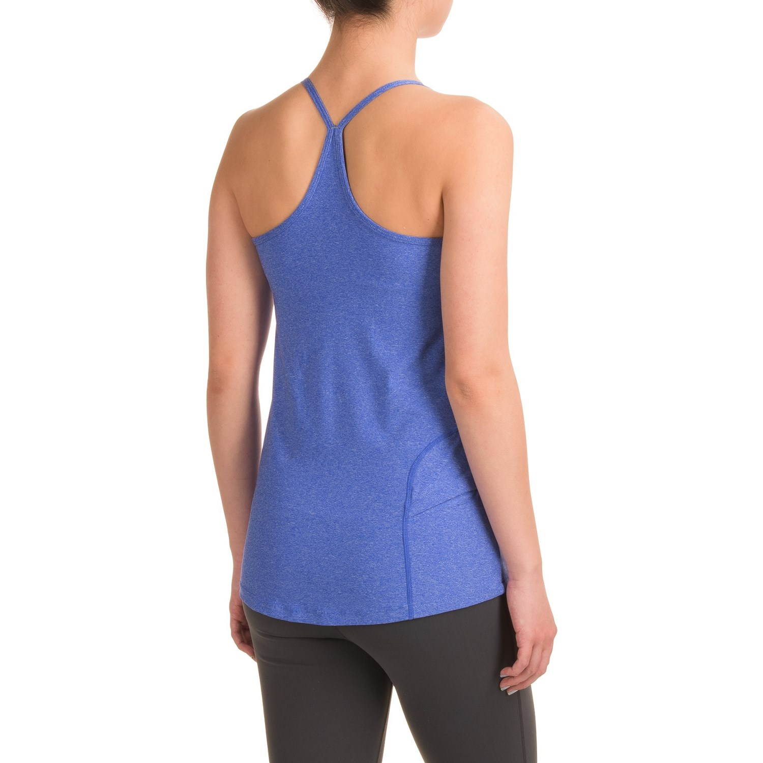Mondetta Melange Jersey Tank Top (For Women) - Save 65%