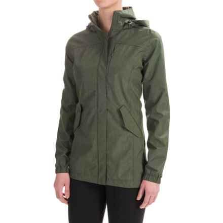 Mondetta Mirage Rain Jacket - Waterproof (For Women) in Olive - Closeouts