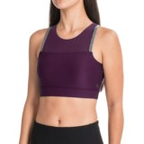 Mondetta Plush High-Performance Sports Bra - Medium Impact, (For Women)