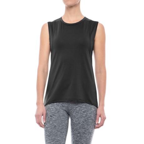 Mondetta Primo Stretch Pique Tank Top (For Women) in Black