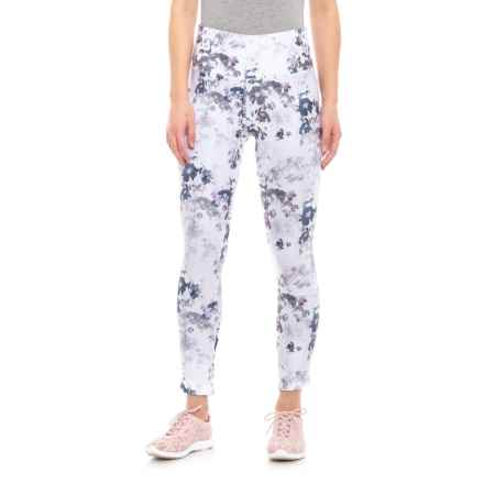 Mondetta Print Leggings with Petal Hem (For Women) in Floral Print - Closeouts