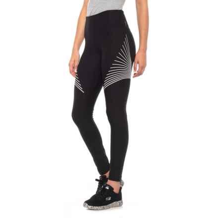 da2b925f6513d Clearance. Mondetta Racetime 2 Solid Leggings (For Women) in Black -  Closeouts