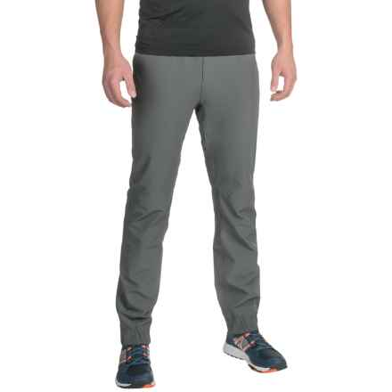 Mondetta Stretch-Woven Joggers (For Men) in Charcoal - Closeouts