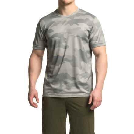 Mondetta Sublimate T-Shirt - Short Sleeve (For Men) in Ash Grey - Closeouts