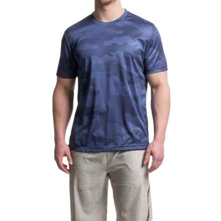 Mondetta Sublimate T-Shirt - Short Sleeve (For Men) in Marine - Closeouts