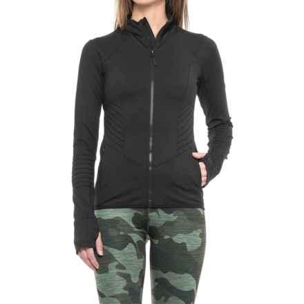 Mondetta Ultra Yoga Jacket (For Women) in Black - Closeouts