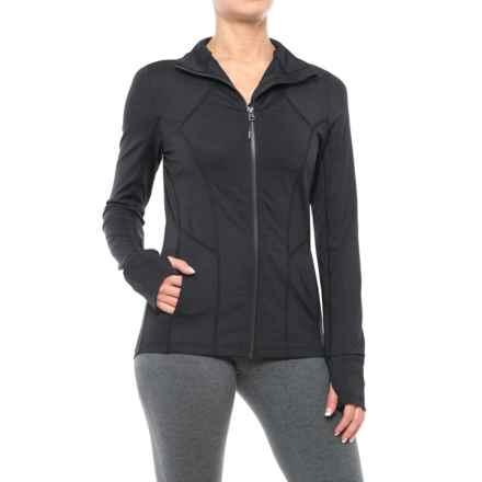 Mondetta Vemo Jacket (For Women) in Black Combo - Closeouts