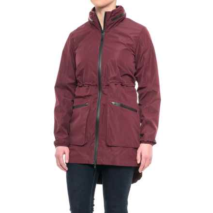 Mondetta Woven Anorak Jacket (For Women) in Port - Closeouts