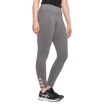 cdb8d850986c MONO B Lattice Leggings (For Women) in Medium Grey