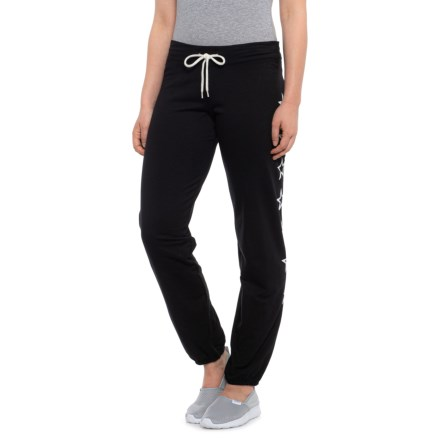 c9ee8ede029659 Monrow Outline Stars Contemporary Vintage Sweatpants (For Women) in Black
