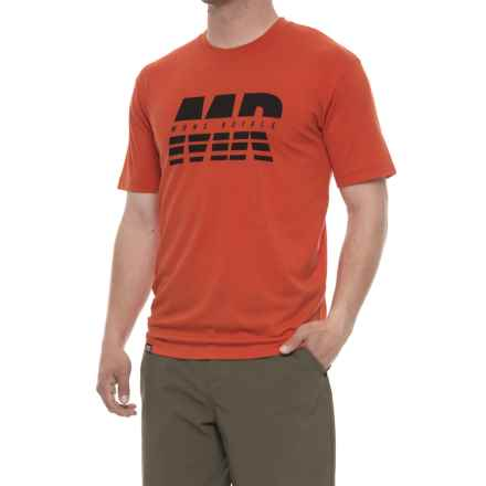 Mons Royale Icon T-Shirt - Crew Neck, Short Sleeve (For Men) in Spice - Closeouts