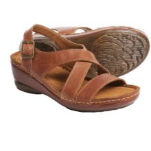 Montana Arizona Leather Sandals (For Women) in Nutmeg - Closeouts
