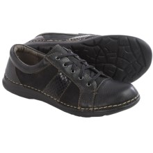 Montana Barrie Leather Shoes (For Women) in Black Multi - Closeouts