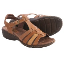 Montana Cricket Leather Sandals (For Women) in Cork Multi - Closeouts