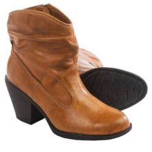Montana Daron Slouch Boots - Leather (For Women) in Cork - Closeouts