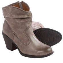Montana Daron Slouch Boots - Leather (For Women) in Grey - Closeouts