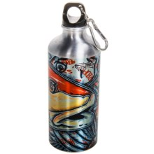Montana Fly Company Aluminum Water Bottle - 22 fl.oz. in Estradas Redfish - Closeouts