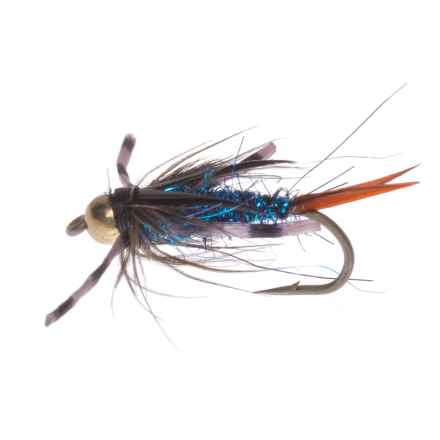 Montana Fly Company Beadhead Batman Nymph Fly - Dozen in Blue - Closeouts