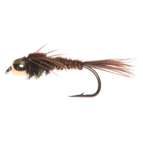 Montana Fly Company Beadhead Pheasant Tail Nymph Fly - Dozen in See Photo