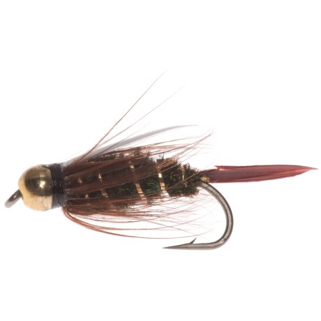 Montana Fly Company Beadhead Prince Nymph Fly - Dozen in See Photo