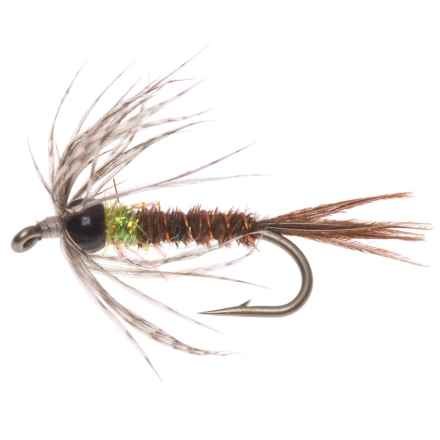Montana Fly Company Beadhead Soft Hackle Nymph Fly in Pt - Closeouts