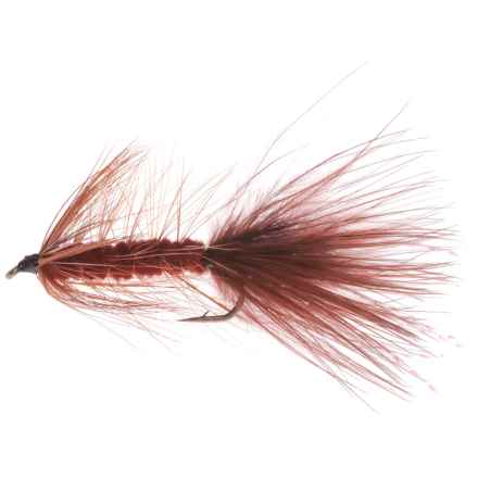 Montana Fly Company Bugger Streamer Fly - Dozen in Brown - Closeouts