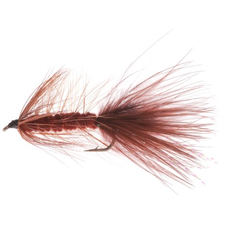 Montana Fly Company Bugger Streamer Fly - Dozen in Brown