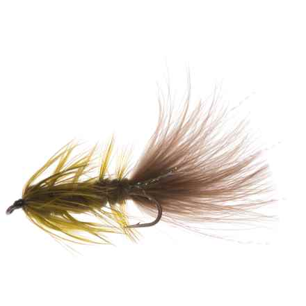 Montana Fly Company Bugger Streamer Fly - Dozen in Olive - Closeouts