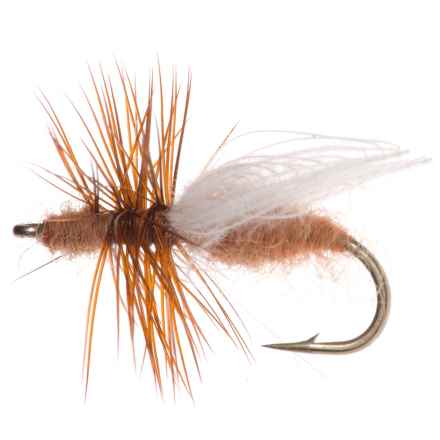 Montana Fly Company CDC Flying Ant Dry Fly - Dozen in Cinnamon - Closeouts