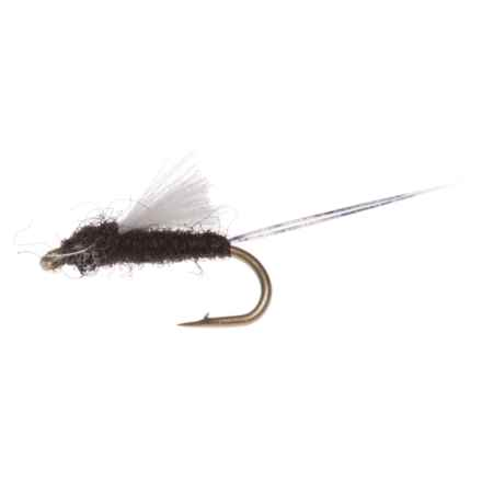 Montana Fly Company CDC RS2 Nymph Fly - Dozen in Black - Closeouts