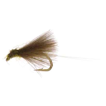 Montana Fly Company CDC RS2 Nymph Fly - Dozen in Olive - Closeouts