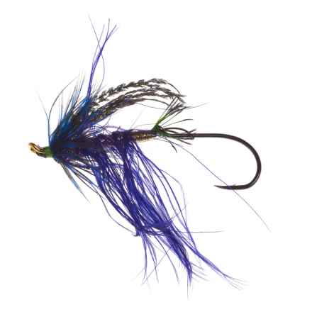 Montana Fly Company Chou's Dawn Patrol Salmon Fly - Dozen in Purple - Closeouts