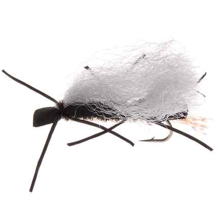 Montana Fly Company Chubby Chernobyl Dry Fly - Dozen in Peacock/White Wing - Closeouts