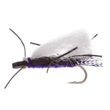 Montana Fly Company Chubby Chernobyl Dry Fly - Dozen in Purple/White Wing - Closeouts