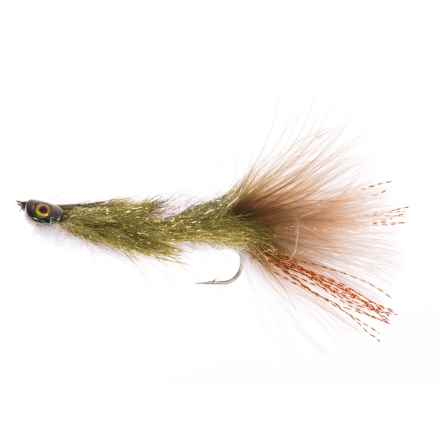 Montana Fly Company Coffey's Articulated Sparkle Minnow Streamer Fly - Dozen in Sculpin - Closeouts