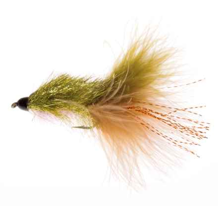 Montana Fly Company Coffey's CH Sparkle Minnow Streamer Fly - Dozen in Sculpin - Closeouts