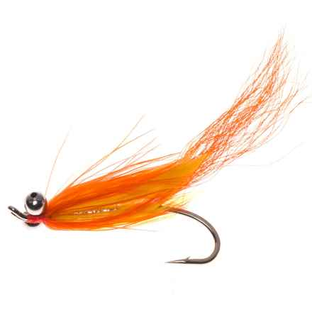 Montana Fly Company Comet Steelhead Fly - Dozen in Orange - Closeouts