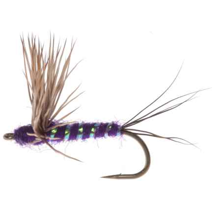 Montana Fly Company Comparadun Dry Fly - Dozen in Purple - Closeouts